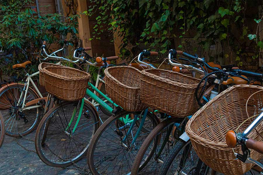 Rome bicycles