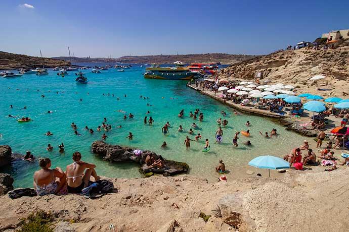Blue Lagoon, Comino Malta